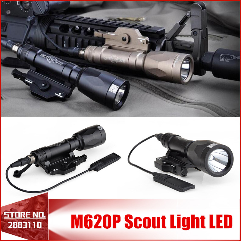 Element M620P Scout Light LED Weapon light Full Version Night Evolution Tactical Weapon Flashlight handheld Spotlight EX363 new original module ib il 24 di 4 pac 2861234