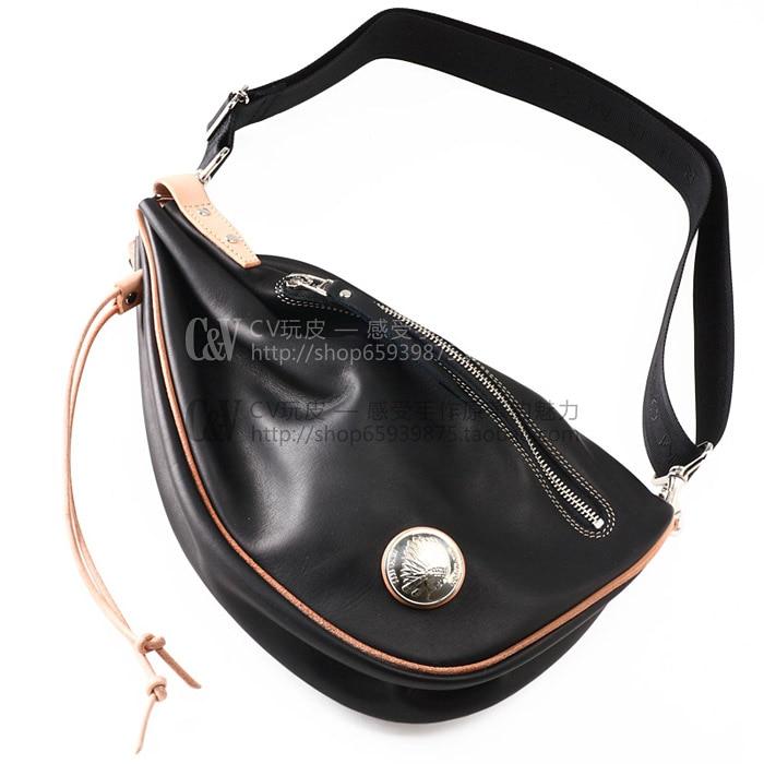 [B-024] поделки ручной работы кожаная сумка Redmoon стиль нагрудная сумка узор рисунки в ...