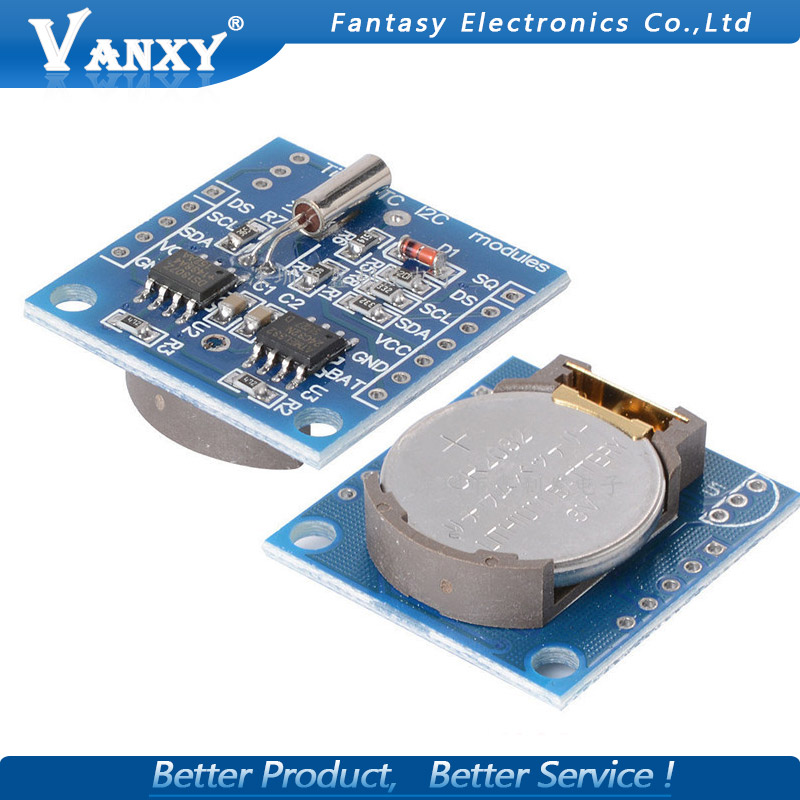 5pcs Tiny RTC I2C Modules 24C32 Memory DS1307 Clock RTC Module Without Battery New