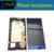 1 Pc/lote Azul/White Color Display LCD e Tela Sensível Ao Toque Com quadro assembléia para htc 8 s windows phone 8 s a620e frete grátis grátis