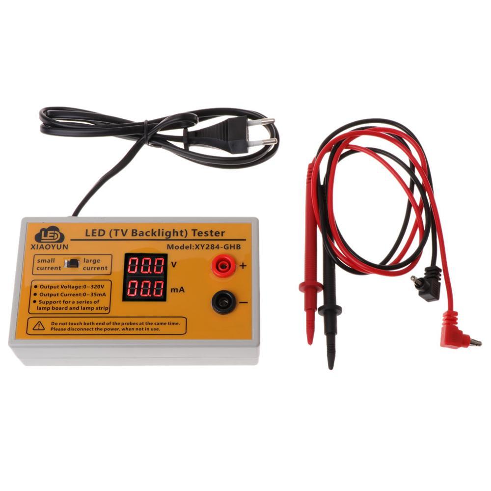 Probador de retroiluminación LED TV de salida de 0-320V tiras LED multiusos Herramienta de prueba de cuentas
