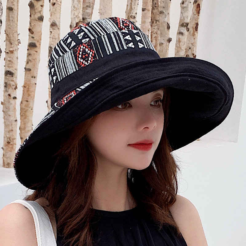 RUBYVICKY Spring Summer Hat Woman Hat For Women Sun Hat Folding Japanese Simple Woman Fisherman Hat