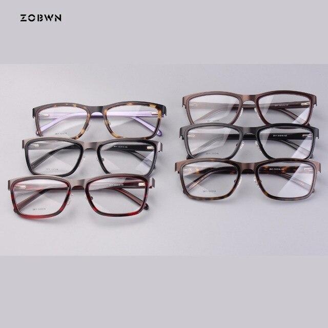 59f1759df19 ZOBWN mix wholesale retro glasses fashion Style Eyewear Frame Women Optical  Eyeglasses Computer Glasses Frame nerd