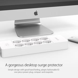 Image 3 - ORICO presa elettrica presa di prolunga ue presa di corrente protezione da sovratensione ciabatta ue con porte Super caricabatterie USB 5x2.4A