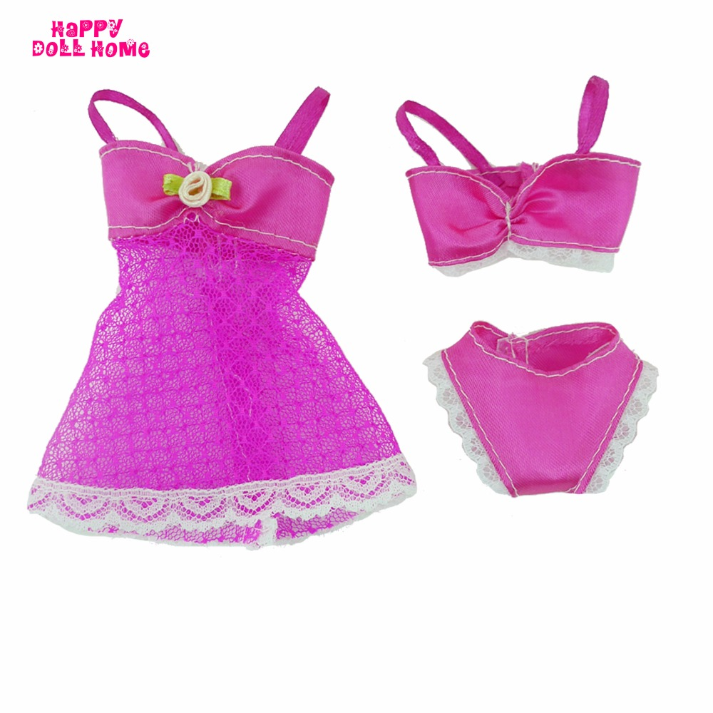 Aliexpress.com : Buy One Set Doll Accessories Rose Red Sexy ...