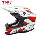 Professional motocross helmet Brand TORC T32 motorcycle helmet Men's off-road moto cascos Dirt Bike capacete DOT Approved