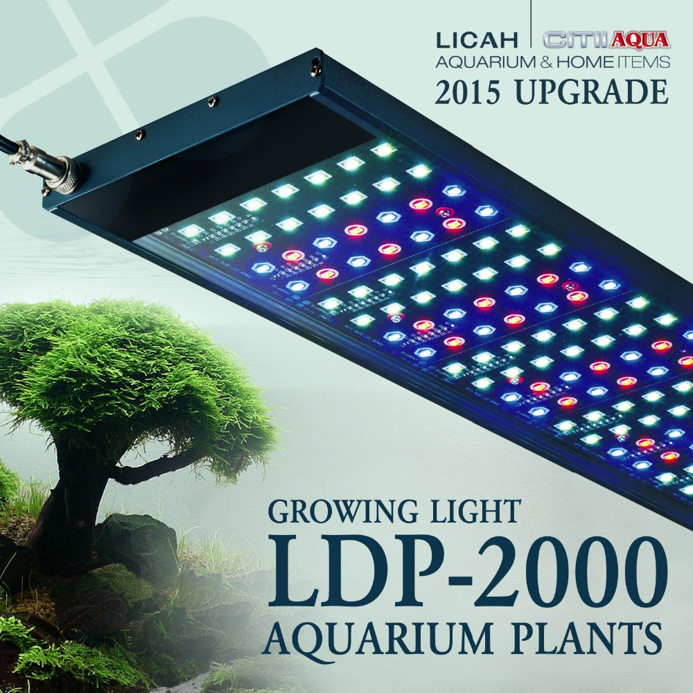 LICAH AQUARIUM PLANT LED LIGHT LDP-2000 Free Shpping(China (Mainland))
