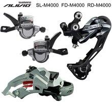 SHIMANO ALIVIO M4000 9S 27S Speed Groupset Kit 3 Parts