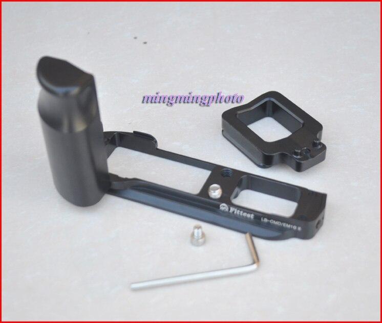 LB-EM10 Quick Release L Plate/Bracket Holder Grip for Olympus OM-D E-M10 EM10 E-M10II RRS SUNWAYFOTO Markins Compatible
