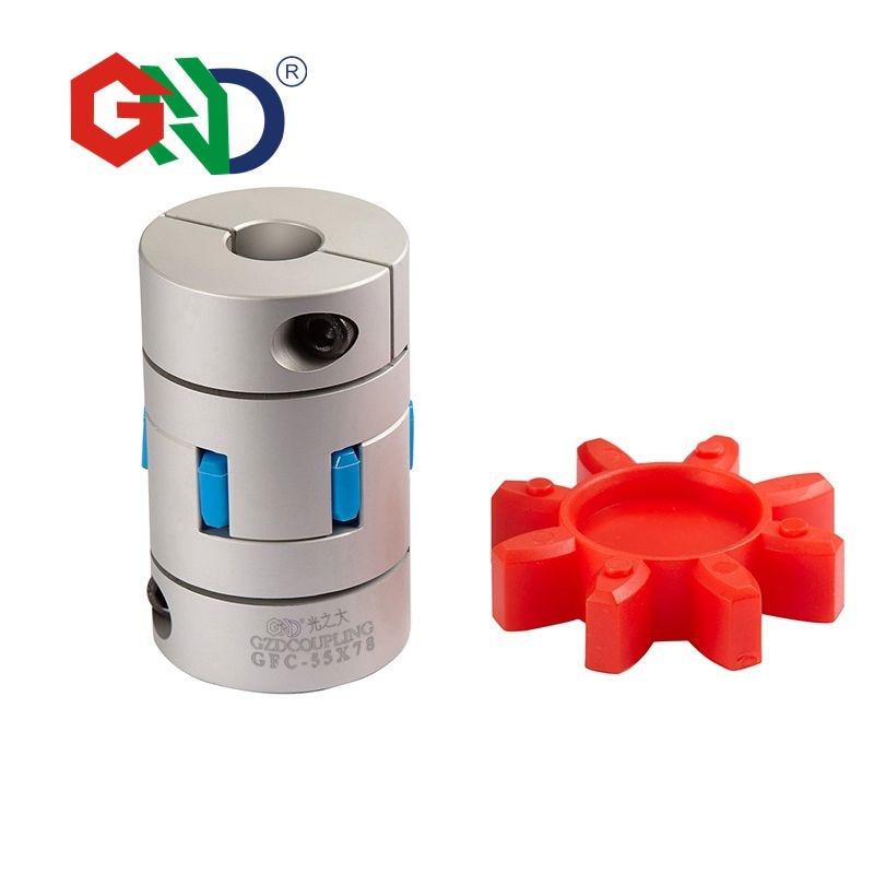 где купить GND servo motor coupling gear D20 L30 hole minimum 3mm maximum 10mm Jaw shaped clamping flexible coupling shaft coupler по лучшей цене