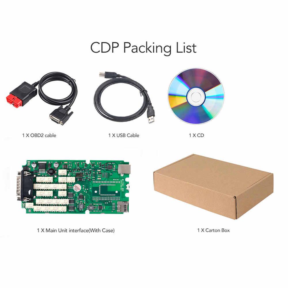 A + Chất Lượng CDP TCT CDP Pro Plus Bluetooth Xanh Đơn Ban Năm 2015. r3 Keygen OBD II Ô Tô Xe Tải OBD2 Quét Công Cụ Chẩn Đoán