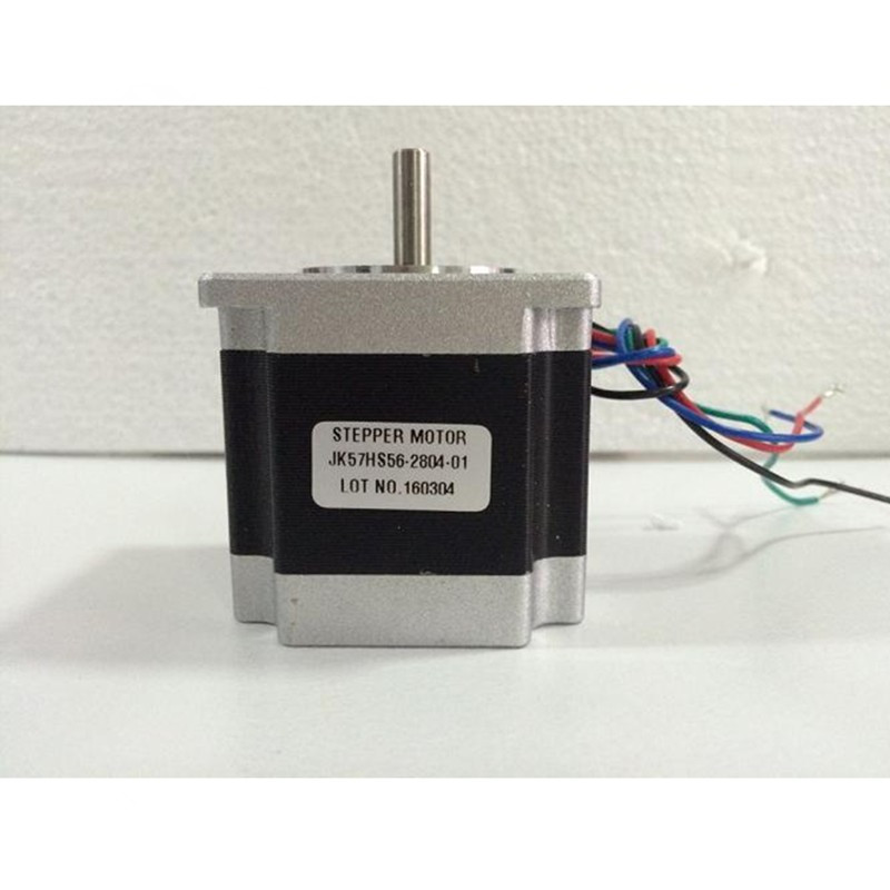 Stepper motor NEMA23 56 D=8mm 4 wires 3A 1.26N.m stepping motor 180 oz in NEMA 23 for CNC engraving milling machine 3D printer