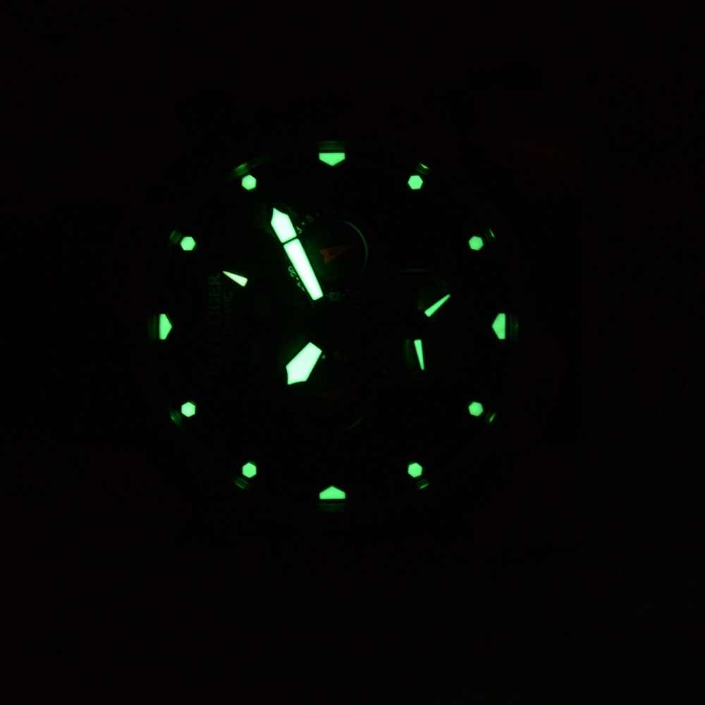 שונית טייגר/RT ספורט שעון גברים גדול עלה זהב שנאי מהדורה 2019 עמיד למים צבאי שעונים מכאני שעון יד RGA3532