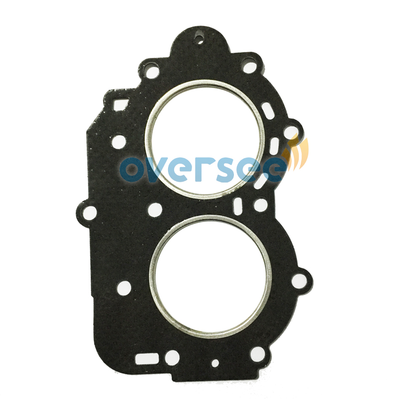 OVERSEE 682-11181-01 HEAD GASKET CYLINDER For Yamaha 9.9HP 15HP Outboard Engine 6E7-11181, 682-11181)