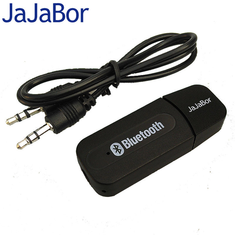 USB 3.5mm Auto Bluetooth V2.0 EDR Audio Music Receiver Adapter AUX A2DP Kit