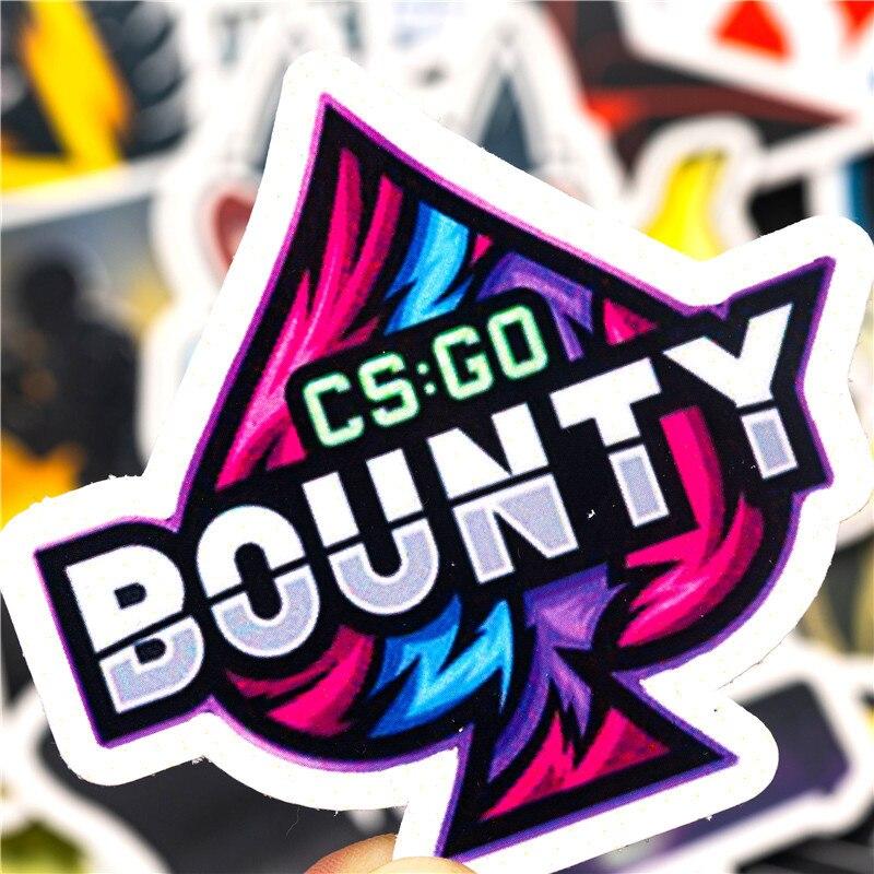 30PCS Pack CS GO Game Stickers
