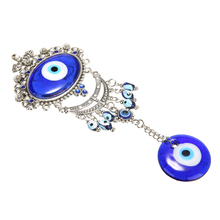 Blue Turkish Evil Eye Pendants Wall Hanging Decoration Blessing Protection Home Decotation Lucky Pendant