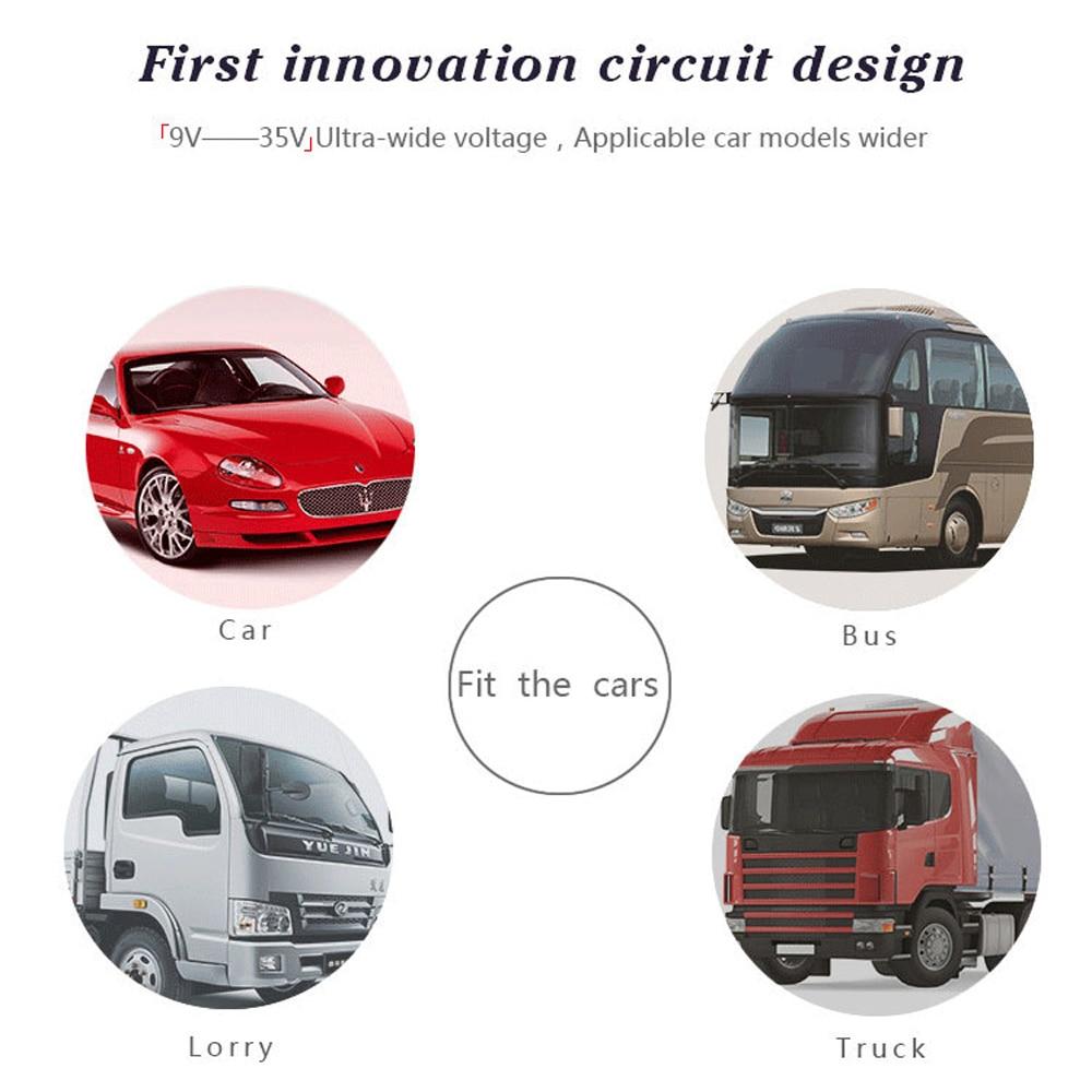 2017 Car HUD Head up Display System samochodowy OBDII Auto KM / H RPM - Elektronika Samochodowa - Zdjęcie 6