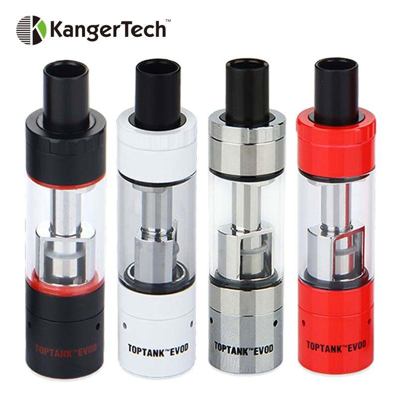 100% Originale Kanger Toptank EVOD Clearomizer Atomizzatore Vape 1.7 ml Serbatoio Top riempimento fit VOCC-T testa/VOCC Bobina/aggiornato A Doppia Bobina