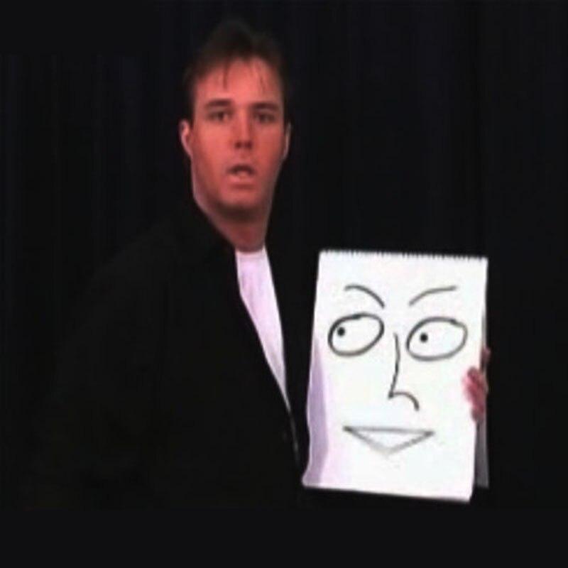Tableau à dessin magique-tours de magie, magie de scène, magie de gros plan, mentalisme, comédie - 2