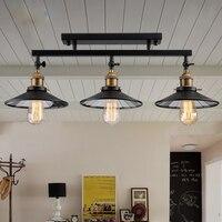 Лофт антикварные светильники потолочные Винтаж промышленные светильники украшения дома освещение с E27 EDISON ЛАМПЫ для столовой/ресторан
