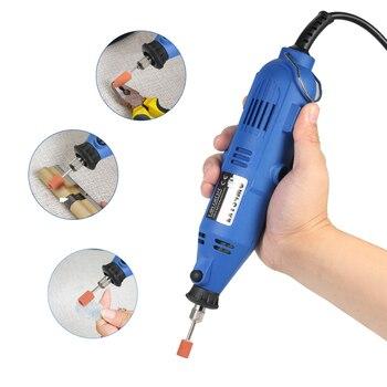 240 W 180 W UE enchufe Multi-funcional amoladora eléctrica taladro 6 velocidad Variable velocidad pulidora herramienta rotativa