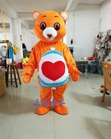 Care Bear Panda Mascot Costume Birthday Party Fancy Dress Adults Size Halloween Factory Custom