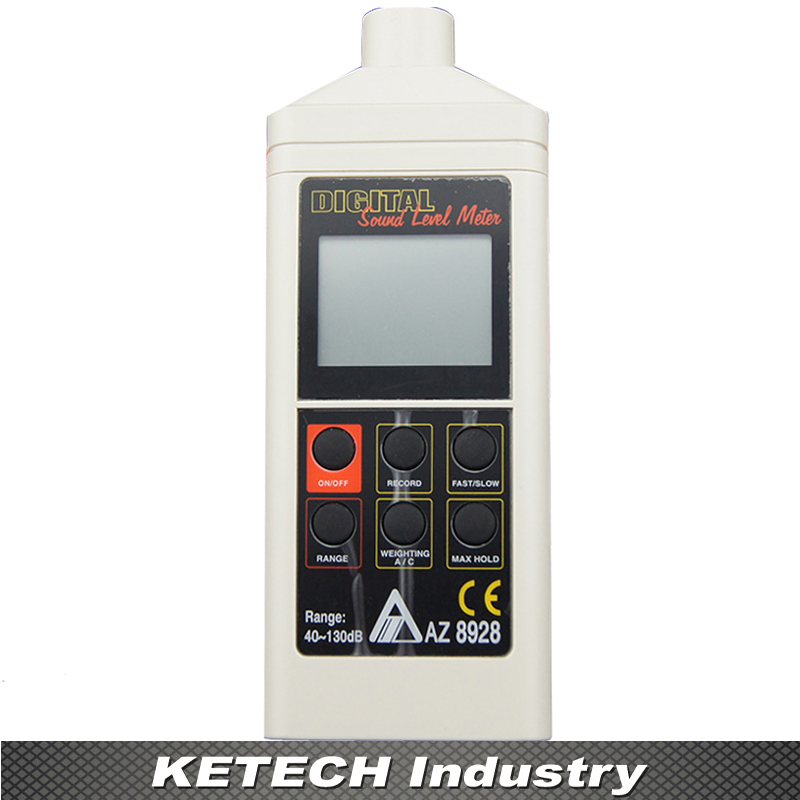 AZ8928 Digital Sound Level Meter Measuring Range 40-130dB Digital Noise Meter optometric economic digital pupillometer cx8 stable quality ce marked accurate measuring pd meter