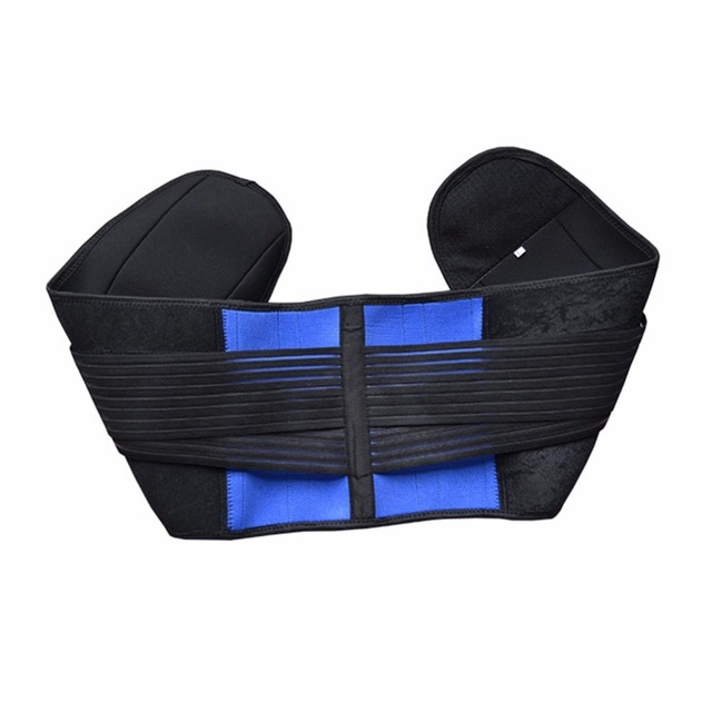 AOFEITE Neoprene Waist Posture Corrector Belt Lumbar Support Back Brace Tummy Trimmer Belt Reduce the Lumbar Pain Free Shipping 3