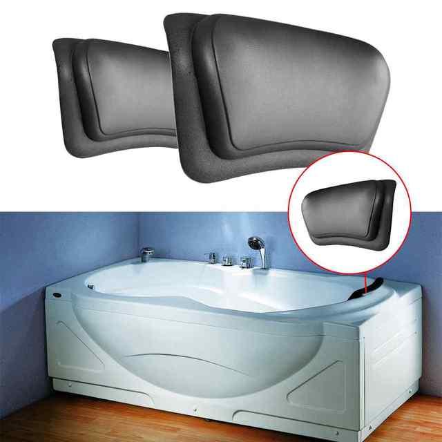 Nouveau 1 Pcs Baignoire Spa Bain Oreiller Massage Relaxant Bain Cou