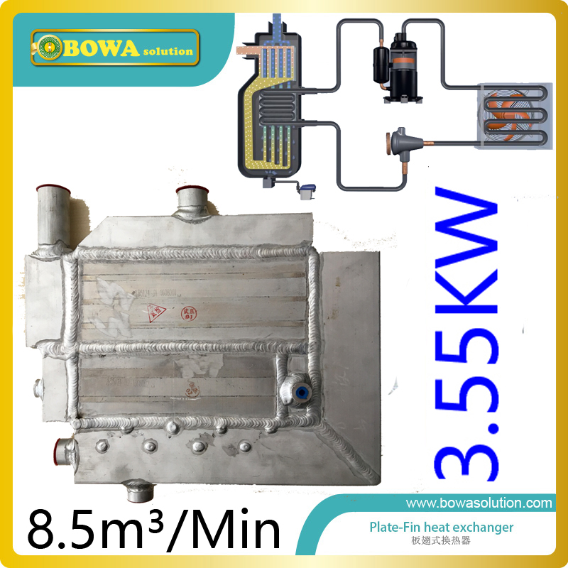 8.5m3/min(3.6KW cooling capacity) heat exchanger Reducing leak paths and refrigeration valving interchangeable with API PCR 738w cooling capacity refrigeration compressor r134a suitable for bottle cooler and beverage chiller