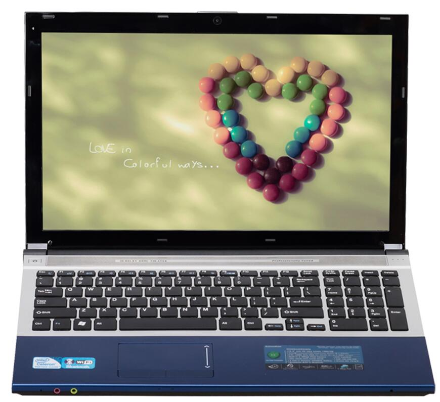 4G RAM+240GB SSD 15.6inch Intel Pentium N3520 HD Graphics 4000 Gaming Laptop Windows 10 Notebook Built-in WIFI Bluetooth DVD-RW