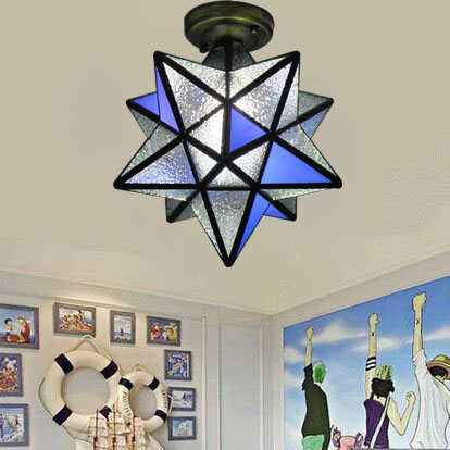 light star ceiling lamp personality living room bedroom restaurant bar corridor porch balcony simple creative lamps ZA ceiling light living room is dome light round american idyllic corridor scandinavian simple balcony antique bedroom lamp 1852