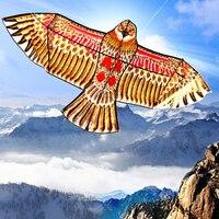 1, 1 м плоский орел воздушный змей большой змей летать с птицей для детей летающий воздушные змеи в форме птиц ветроуказатель открытый сад игрушки ткань игрушки для детей