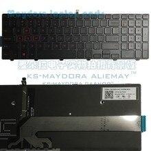 Для Dell Inspiron 15 5551 5552 5555 5558 5559 игровая 15 7559 7558 7552 7553 5577 раскладка клавиатуры США с красной подсветкой клавиатуры