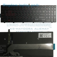 For Dell Inspiron 15 5551 5552 5555 5558 5559 Gaming 15 7559 7558 7552 7553 5577 keyboard US layout with red backlit keyboard