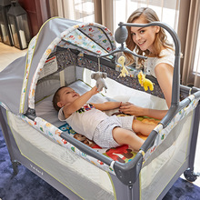 Free Ship! Valdera Brand travel baby  multifunctional folding baby bed fashion portable game bed bb baby child bed newborn bed