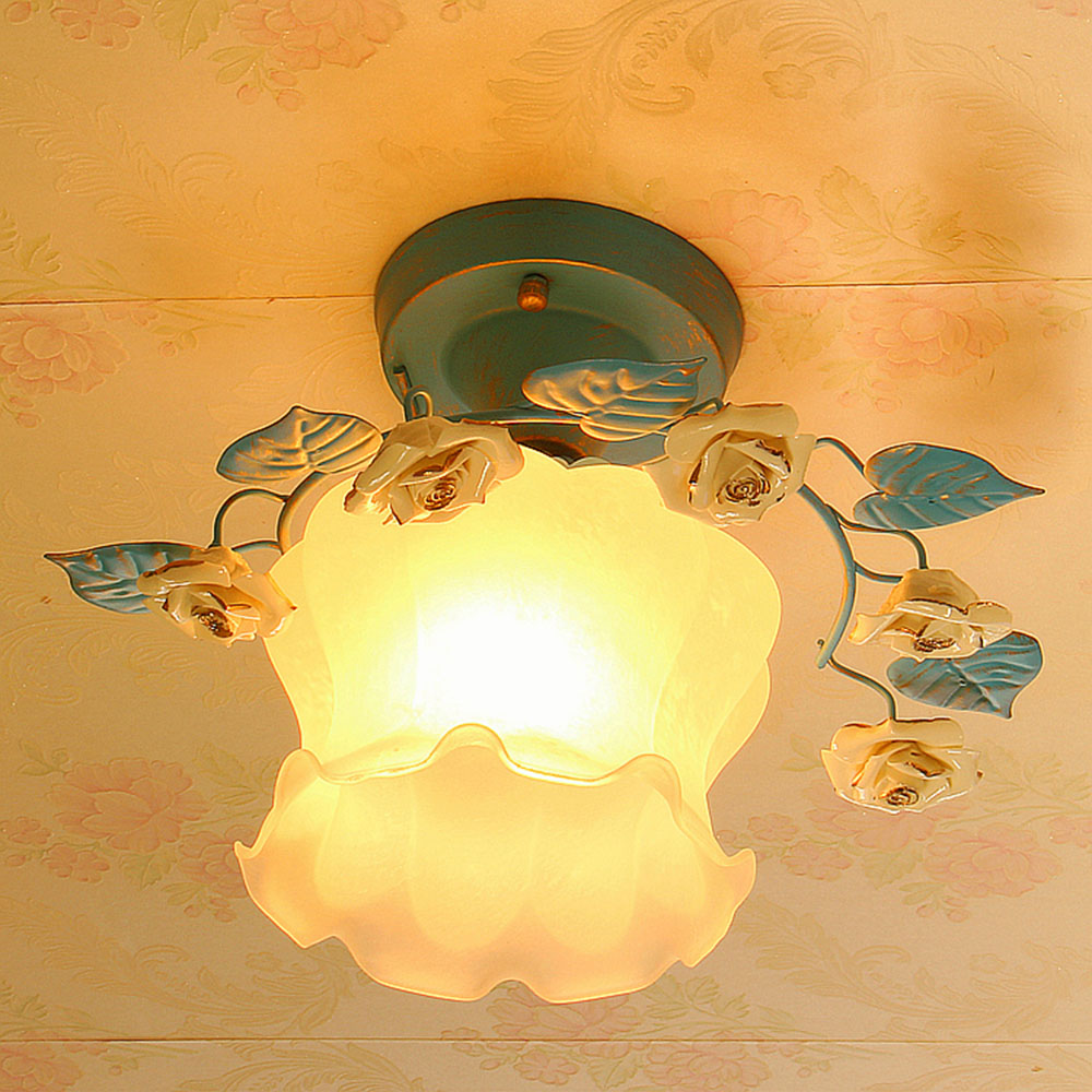 Ceiling Lamp Bedroom Led Home Ceiling Lighting 110-220V Lustre Luminaire Flush Mount Lights for Dining Room Ceiling Light Blue noosion modern led ceiling lamp for bedroom room black and white color with crystal plafon techo iluminacion lustre de plafond
