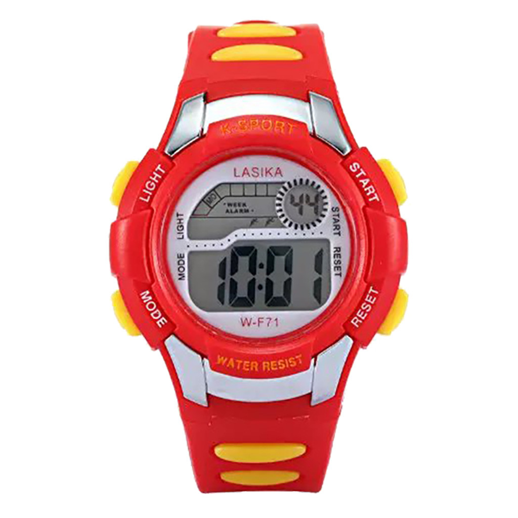 children's watch Multi Function Alarm Clock Student Waterproof Sports Fashion Electronic Watch children zegarki dla dzieci