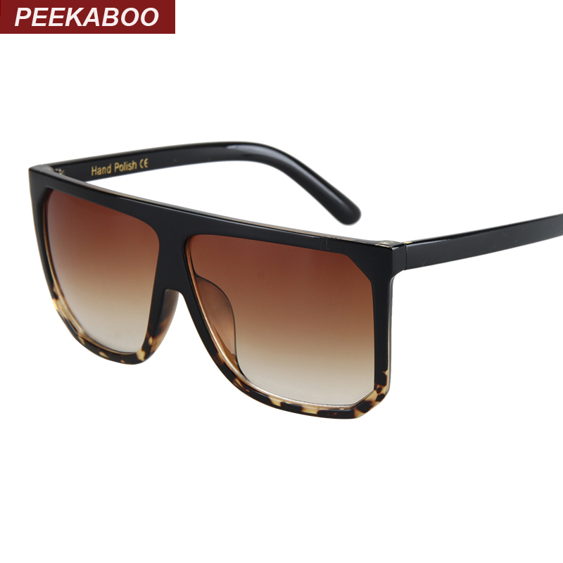 Aliexpress.com : Buy Peekaboo Black clear oversized square ...