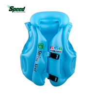 Boys Girls Drifting Adjustable Children Kids Baby Inflatable Life Vest Swiwmsuit Child Swimming Safety Vest 3