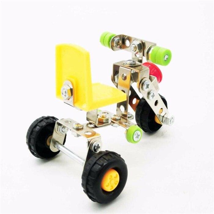 Оптовая доставка 3D трехмерной металлические головоломки сборки инженерно гайка сборки модель DIY игрушка S3MAY31