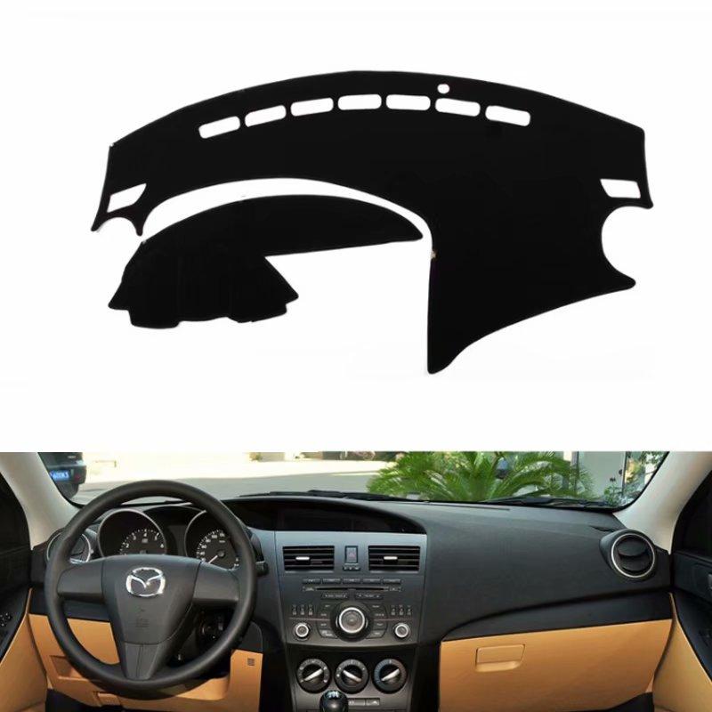 For Mazda 3 Mazda3 BL 2009 2010 2011 2012 2013  Car Styling Covers Dashmat Dash Mat Sun Shade Dashboard Cover Capter  Custom