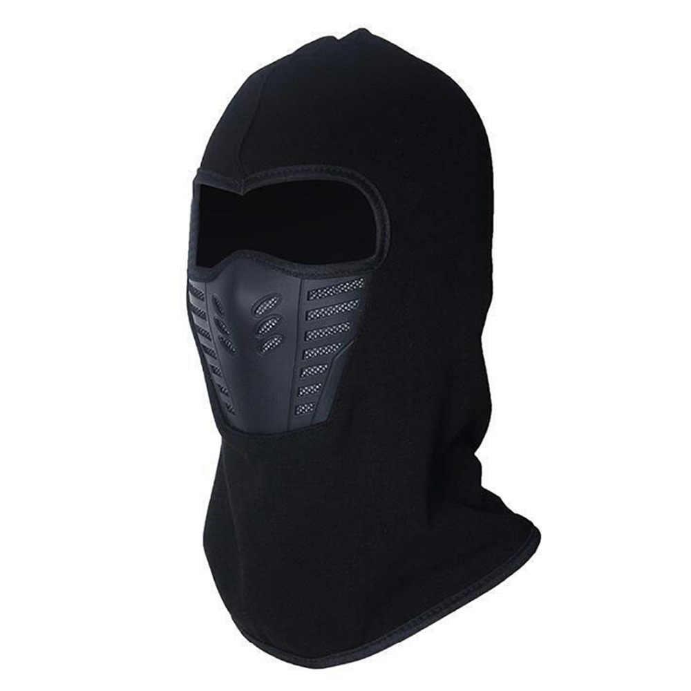 71748040b3f Men   Women Winter Neck Full Face Mask Thermal Fleece Protection Hat Ski  Hood Helmet Cap