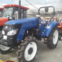 Hot Farm Tractor Large Agricultural Transport Machinery Farm Working Machine Large Four Wheel Tractor