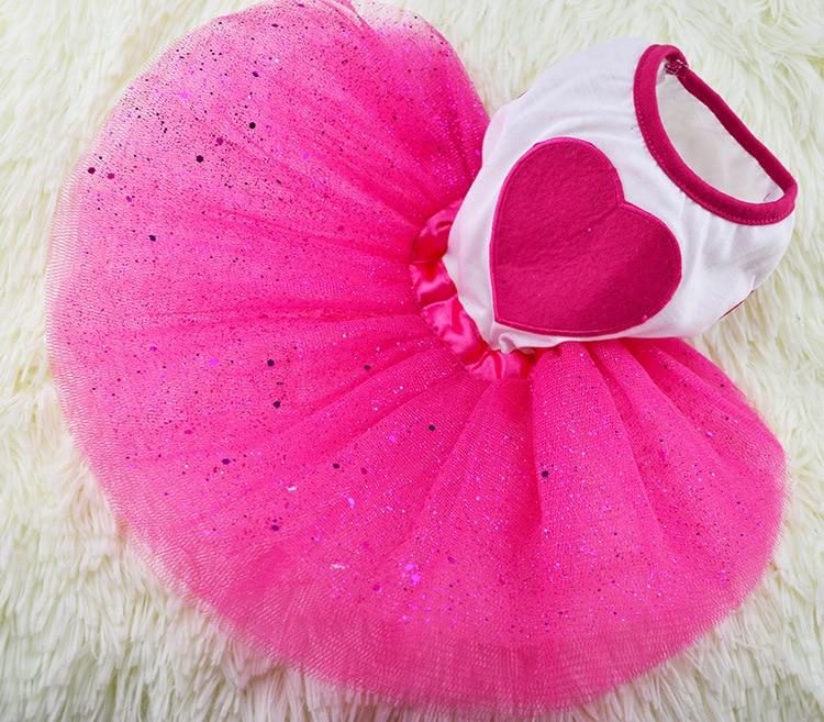Rózsaszín kicsi kisállat kölyök kutya macska nyomtatott szív - Pet termékek
