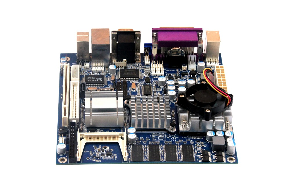 Mini-ITX Motherboard top855 Industrial Motherboard with PCI+24BIT LVDS+12VDC ultra thin pc d525 motherboard fanless mini itx motherboard with onboard ddr3 2gb ram