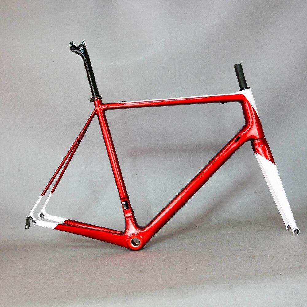 HTB1lcFBkxrI8KJjy0Fpq6z5hVXaV - T1000 carbon frame Full Carbon Fiber Frame Accept painting carbon bicycle frame complete bike frame