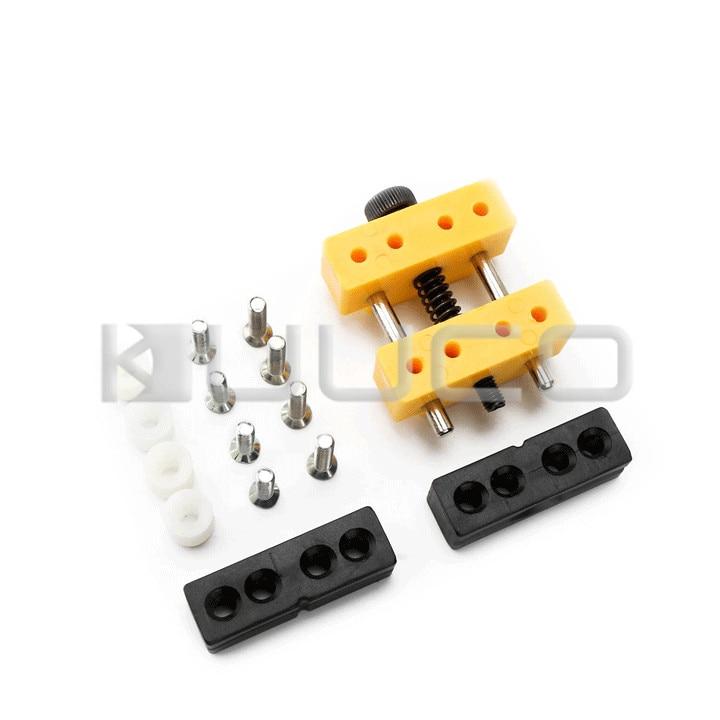 цена на 5 PCS/LOT Mini Vise/Bench Vise/engraving clamp/DIY Tools/Hand Tools for small Jewelry/Hobby Mode/Electronics/Crafts/Walnut etc