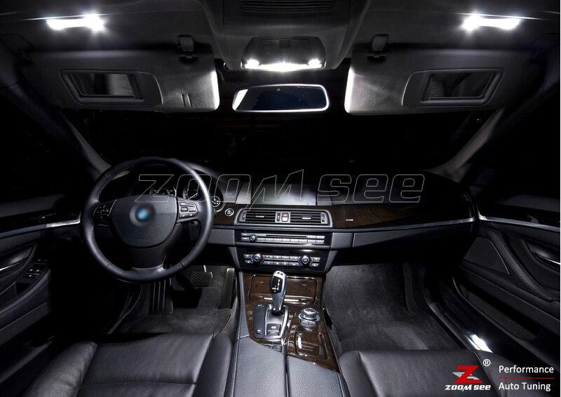 31x светодиодный лампы номерных знаков+ интерьер плафон комплект для bmw 7 серии F01 F02 740Li 750i 760Li 750Li xDrive ActiveHybrid может(09-15